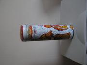 Тубус подарочный с Дедом Морозом для бутылки